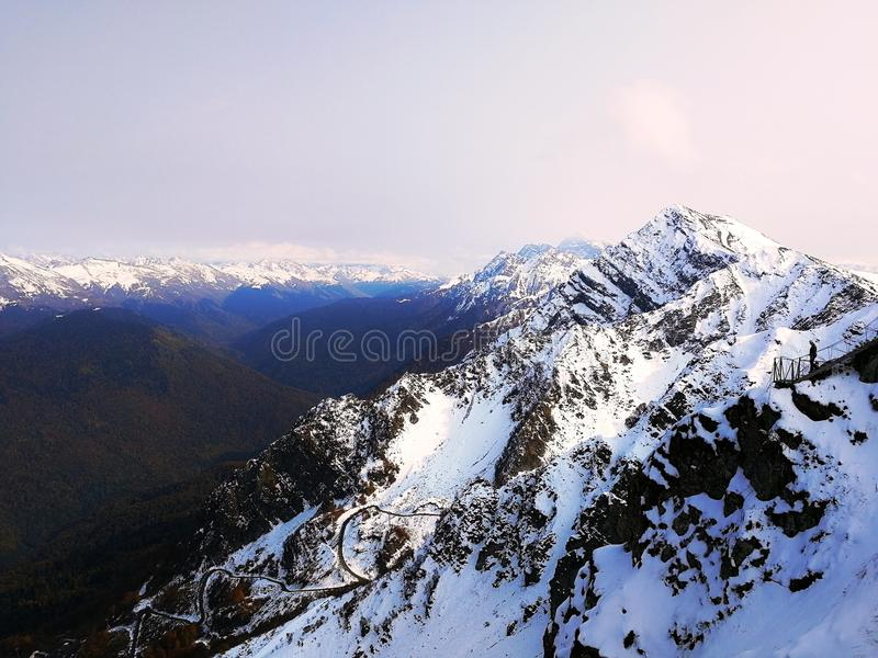 L'hiver blanc photo stock