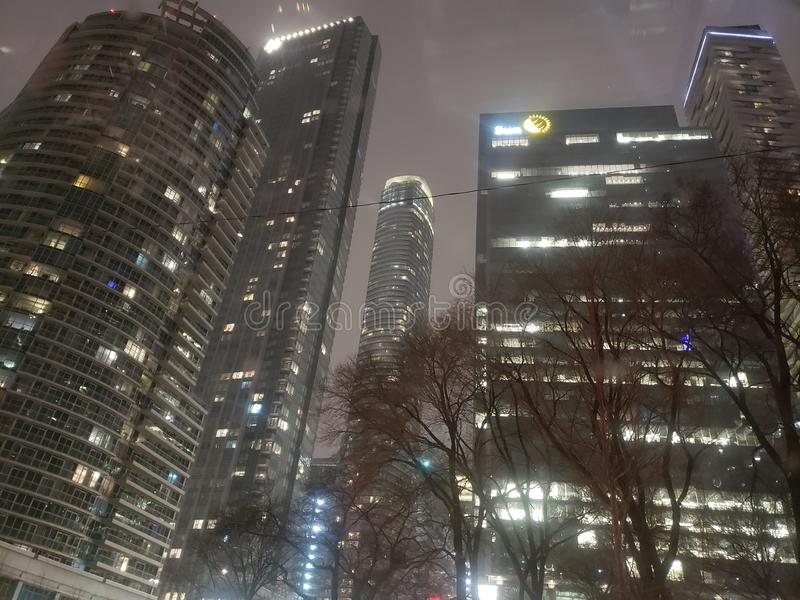L'hiver canadien photos libres de droits