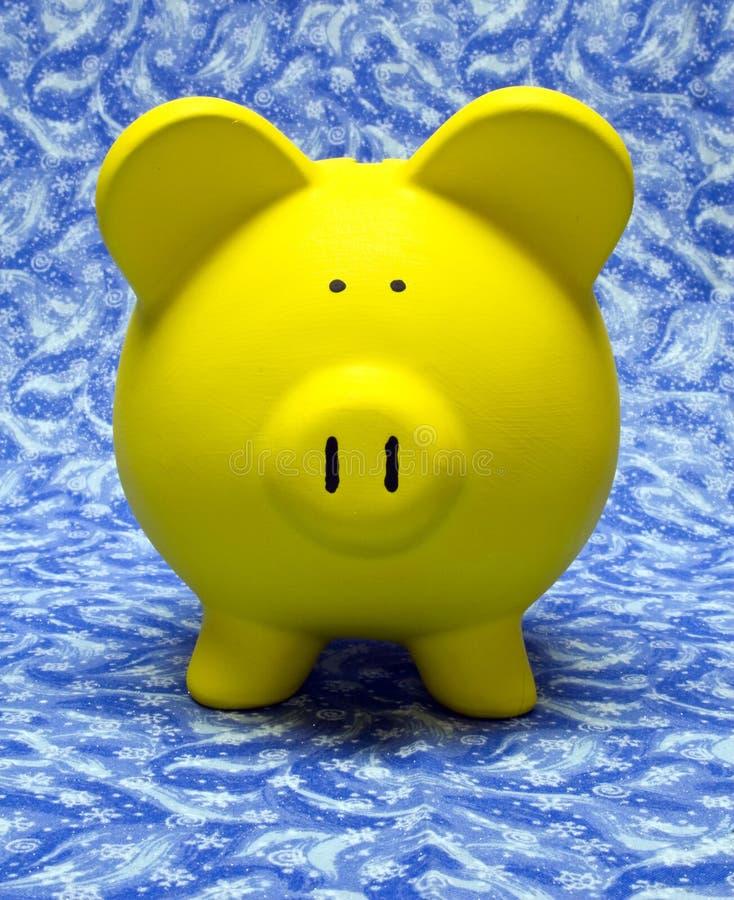 l'hiver d'opérations bancaires image stock