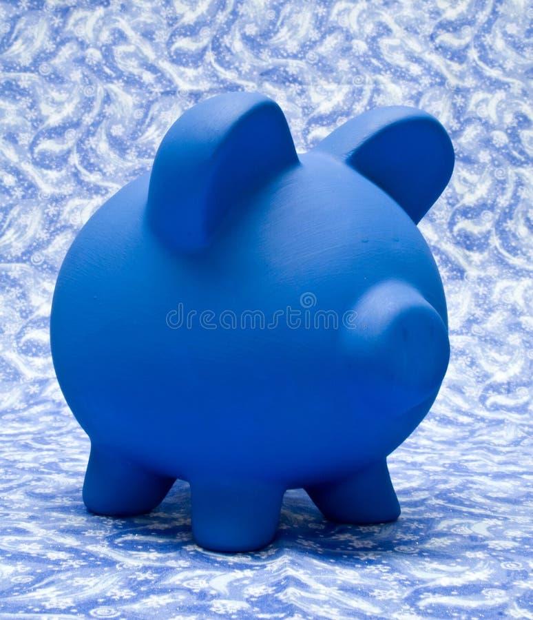 l'hiver d'opérations bancaires photographie stock