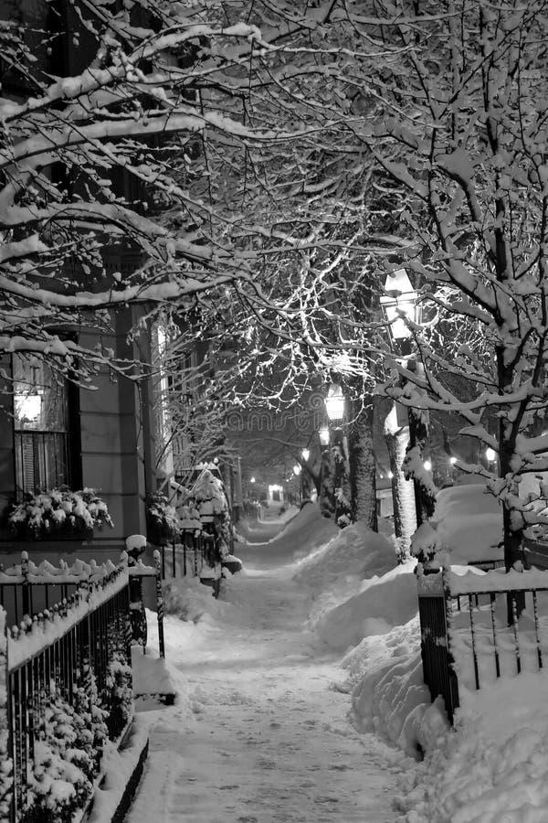 L'hiver de Boston photo libre de droits