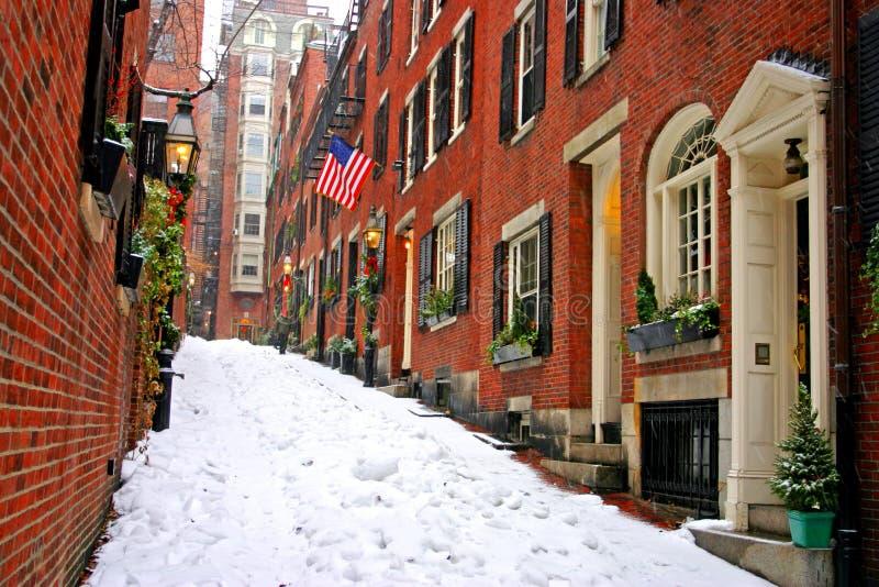 L'hiver de Boston photo stock