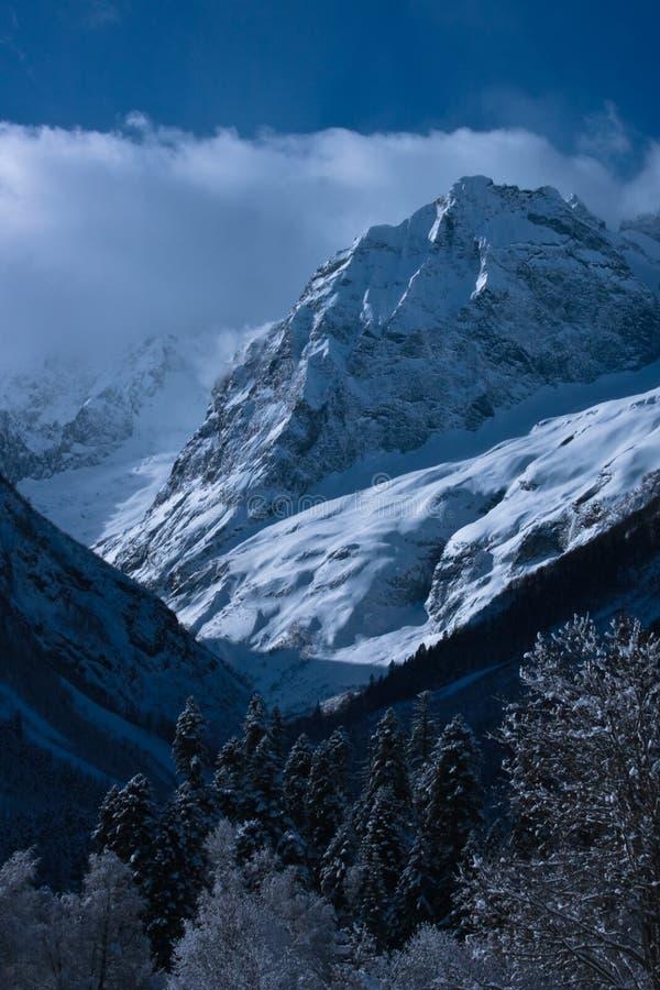 L'hiver de Caucase photo libre de droits