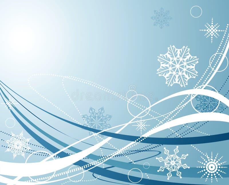 l'hiver de conception illustration stock