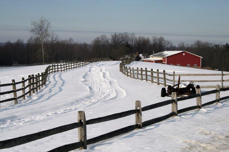 L hiver de ferme