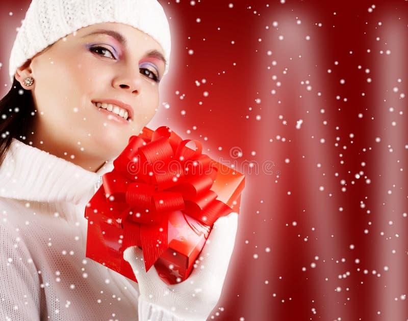 l'hiver de fille photos stock