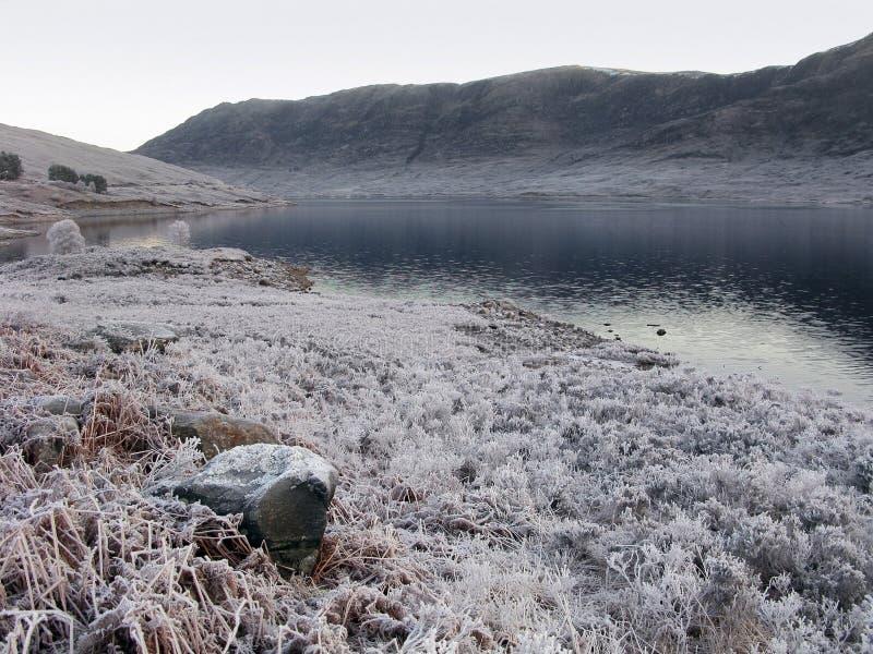 l'hiver de l'Ecosse de gorge de Garry images libres de droits