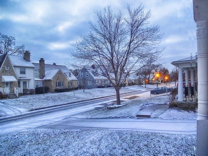 l'hiver de Londres de ville images stock