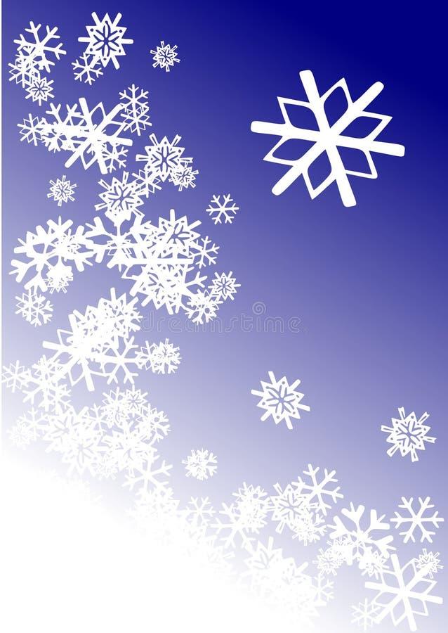L'hiver de Milou illustration de vecteur