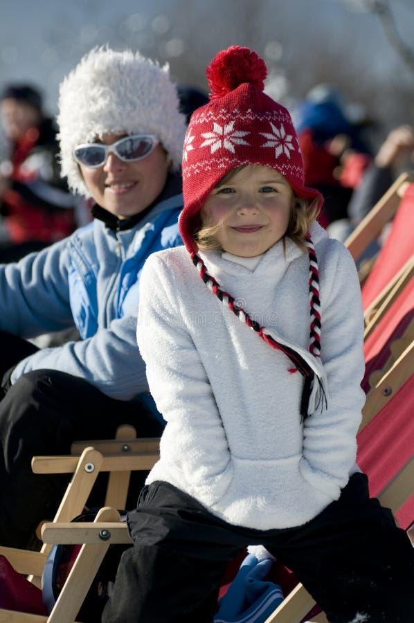 l'hiver de vacances photo stock