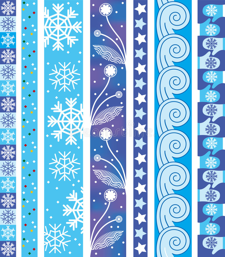 l'hiver de vecteur de cadre illustration de vecteur