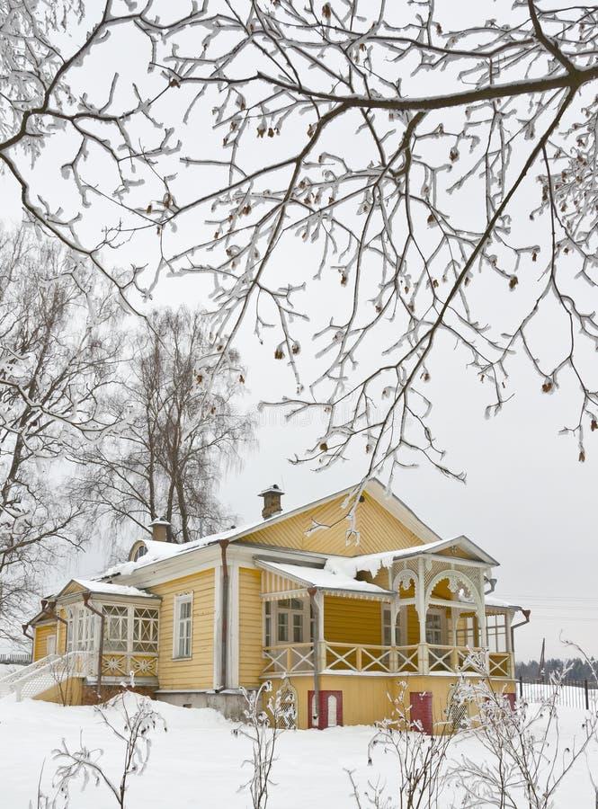 L'hiver en Russie photos stock