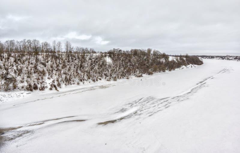 L'hiver en Russie image libre de droits