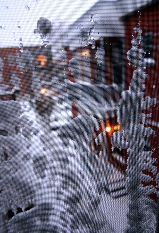 L'hiver est ici images libres de droits