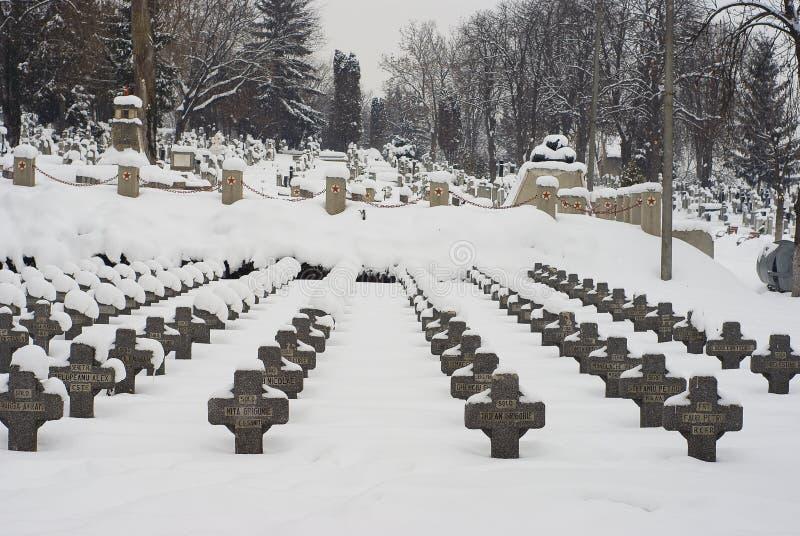 L'hiver extrême en Europe images stock