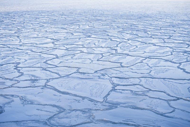 L'hiver glacial image libre de droits