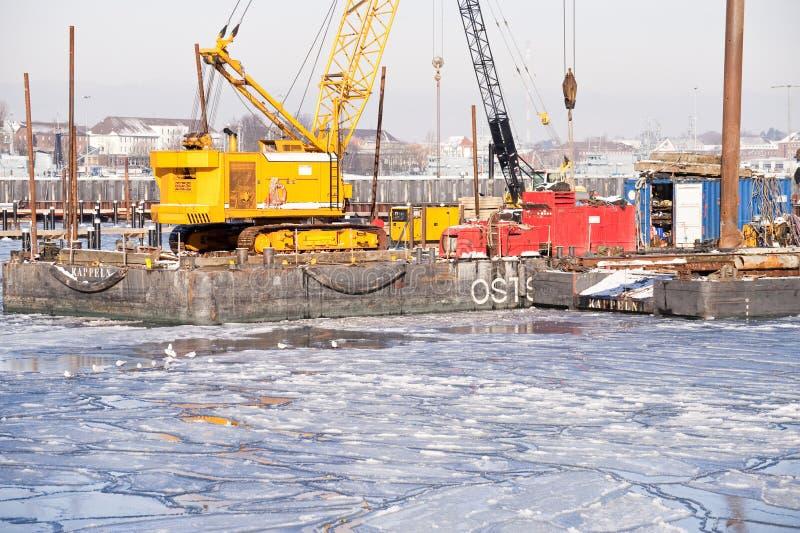 L'hiver glacial photos libres de droits