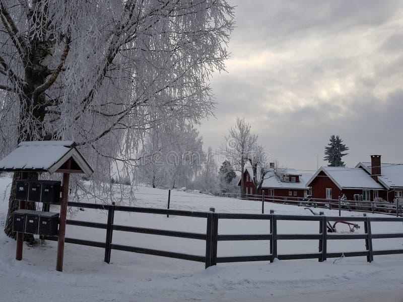 L'hiver norvégien photo stock