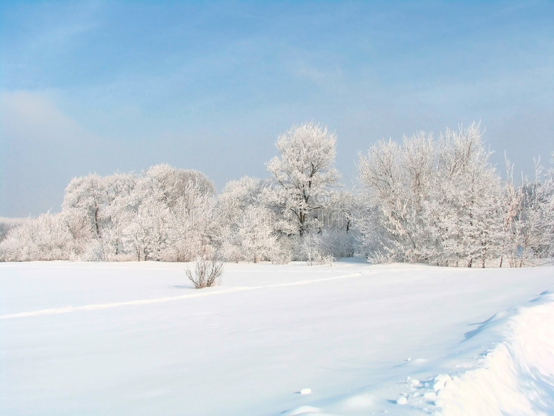 L'hiver russe image stock