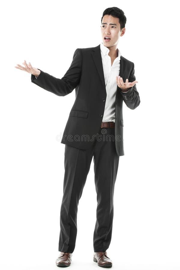 L'homme d'affaires perplexe photo libre de droits