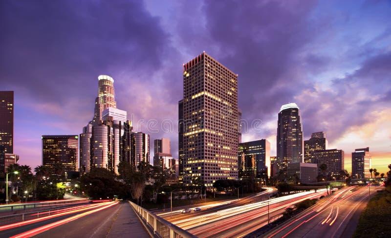 L.A. Horas de ponta fotos de stock royalty free