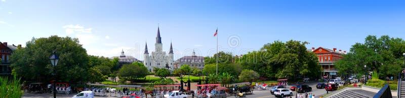 L'horizon de la Nouvelle-Orléans Louisiane Etats-Unis image stock
