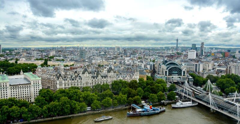 L'horizon de Londres photo stock