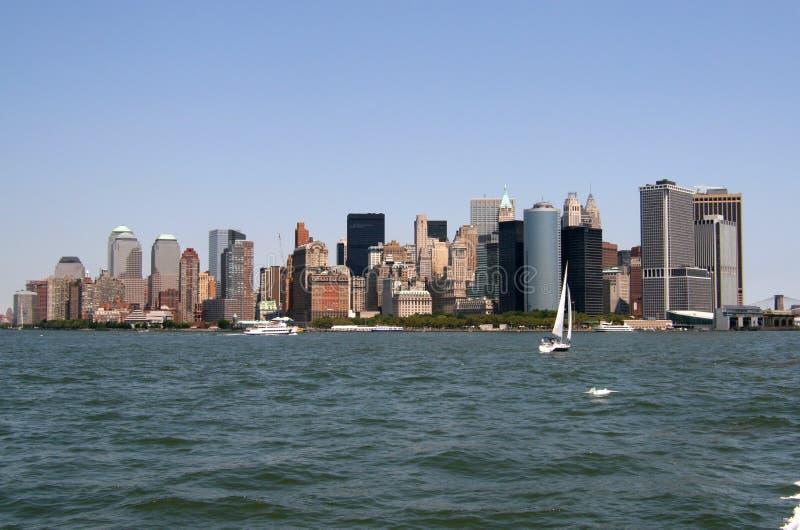L'horizon de New York City photos stock