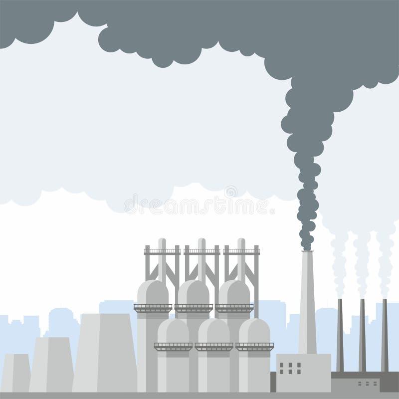 Download L'horizontal industriel illustration de vecteur. Illustration du constructions - 87701003