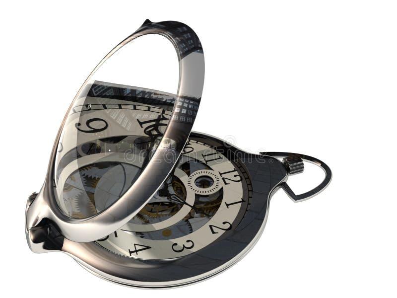 L'horloge illustration stock