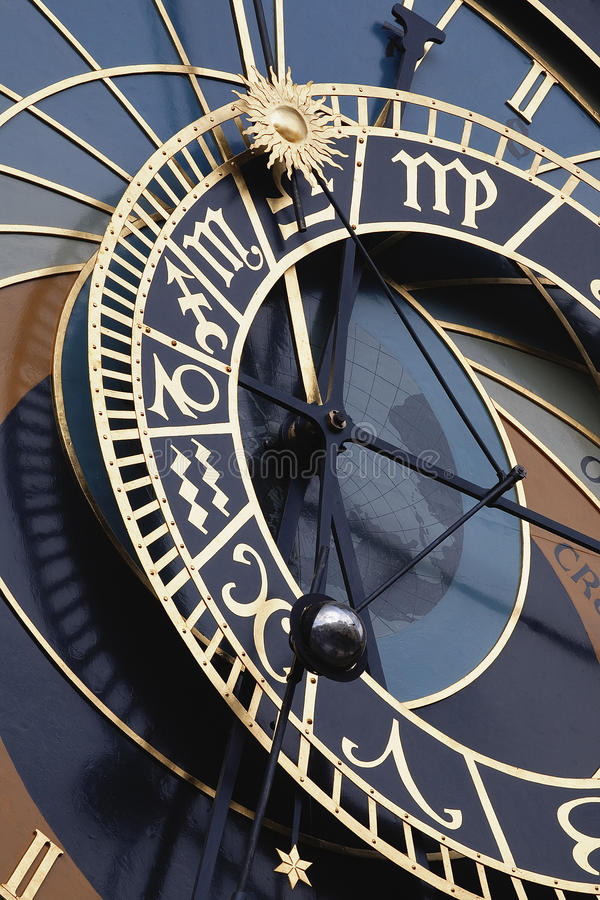L'horloge d'hôtel de ville photos libres de droits