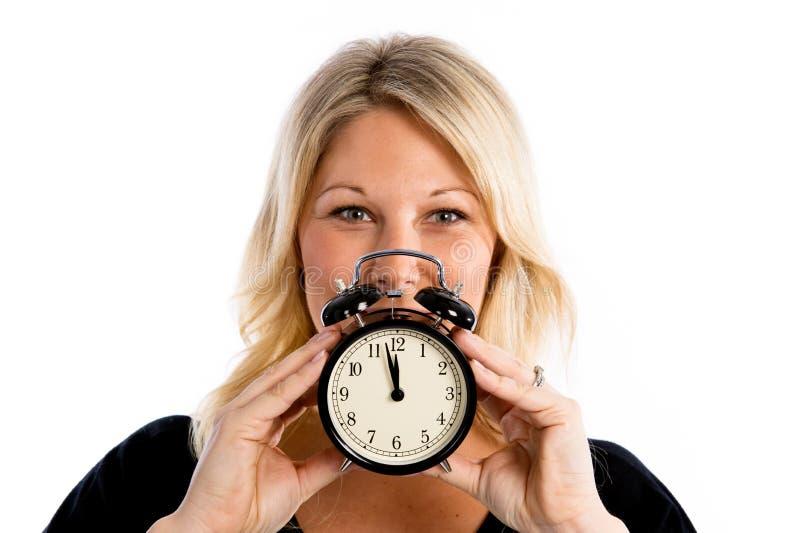 L'horloge de fertilité fait tic tac ! images libres de droits