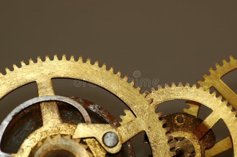 l'horloge engrène vieux photographie stock libre de droits