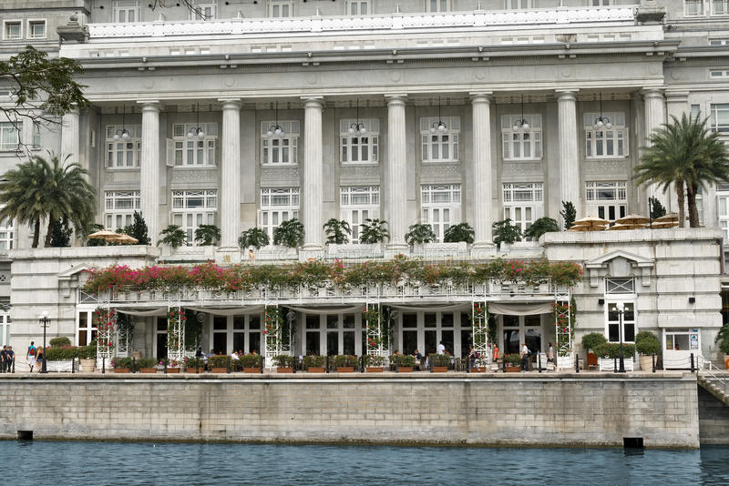 Download L'hotel Di Fullerton, Singapore Fotografia Stock Editoriale - Immagine di industria, destinazioni: 30829123