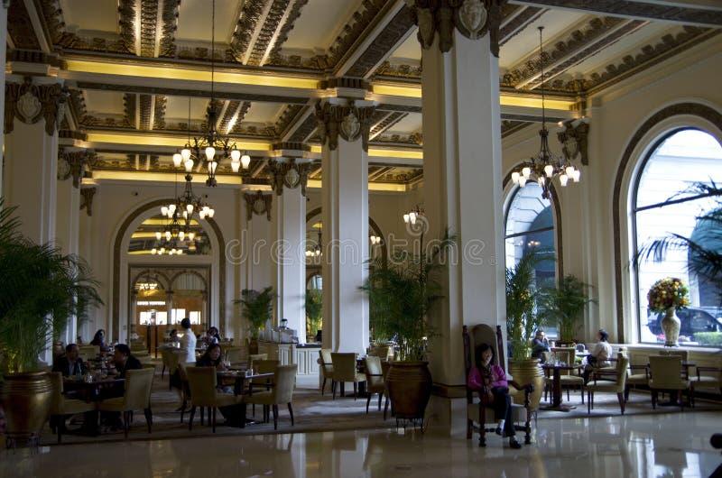 L'hotel di Hong Kong della penisola immagini stock