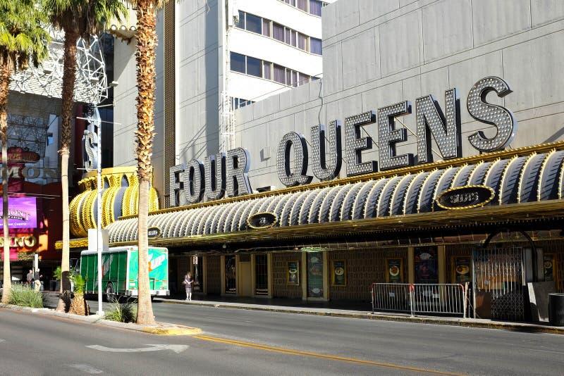 L'hotel ed il casinò del Queens quattro fotografia stock