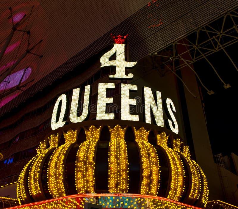 L'hotel ed il casinò del Queens quattro fotografia stock libera da diritti