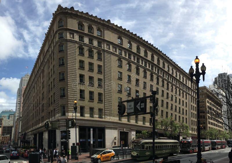 L'hotel San Francisco del palazzo immagini stock libere da diritti