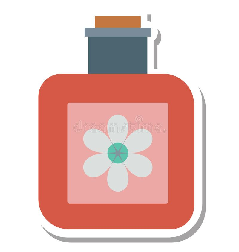 L'huile de station thermale a isolé le special editable d'icône de vecteur pour des projets de beauté et de station thermale, illustration stock
