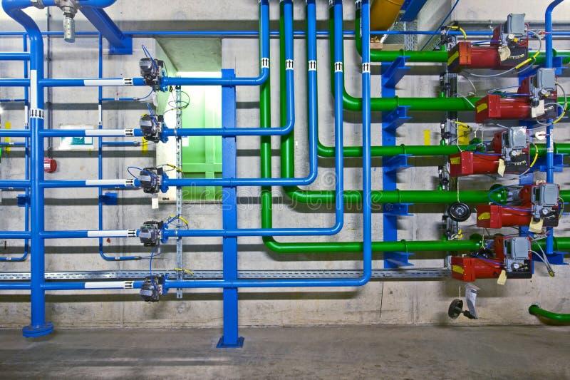L'hydraulique industrielle photographie stock libre de droits