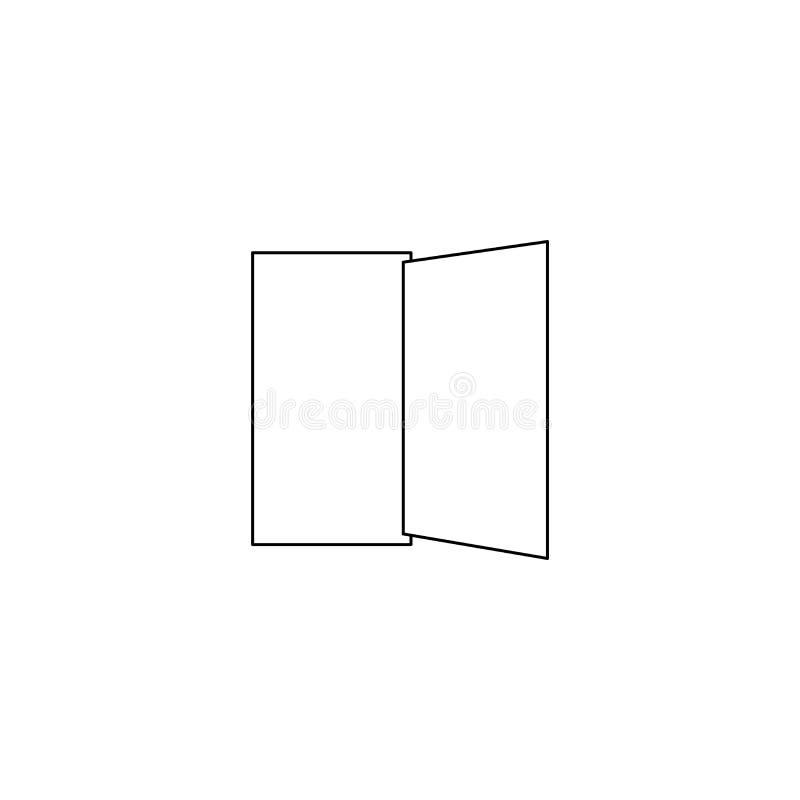 l'icône d'ensemble d'homme de porte, peut être employée pour le Web et le DES mobile illustration de vecteur
