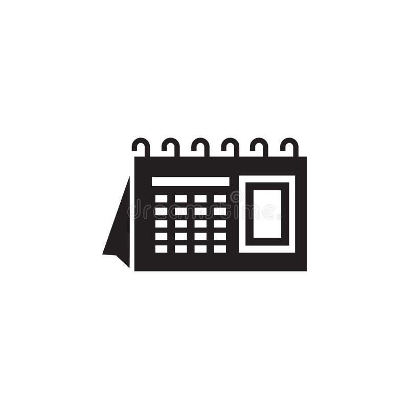 L'icône de calendrier Élément d'illustration de maison d'impression Icône de la meilleure qualité de conception graphique de qual illustration libre de droits