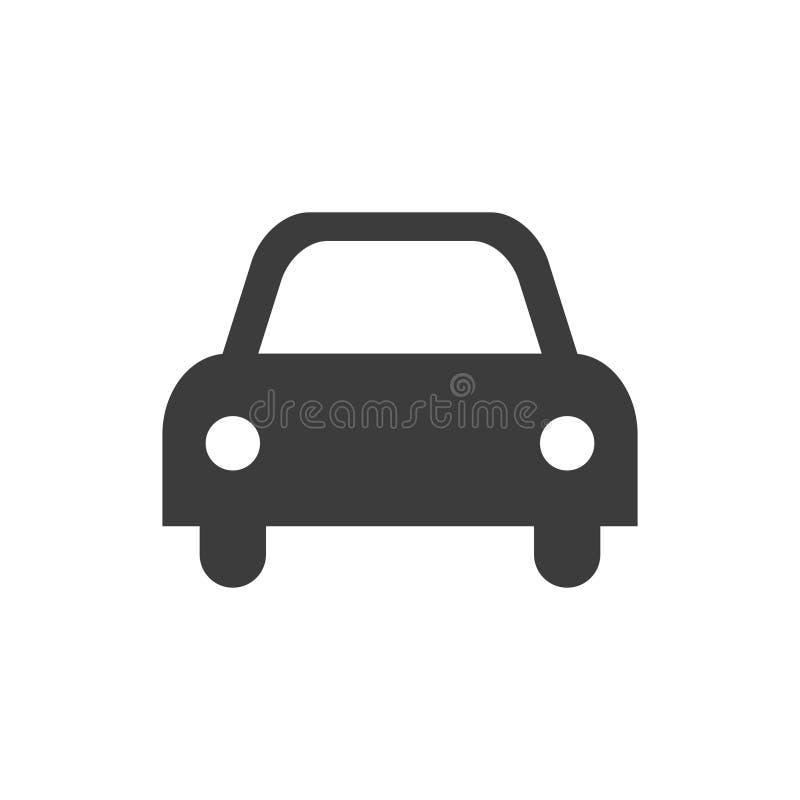 L'icône de la voiture illustration stock