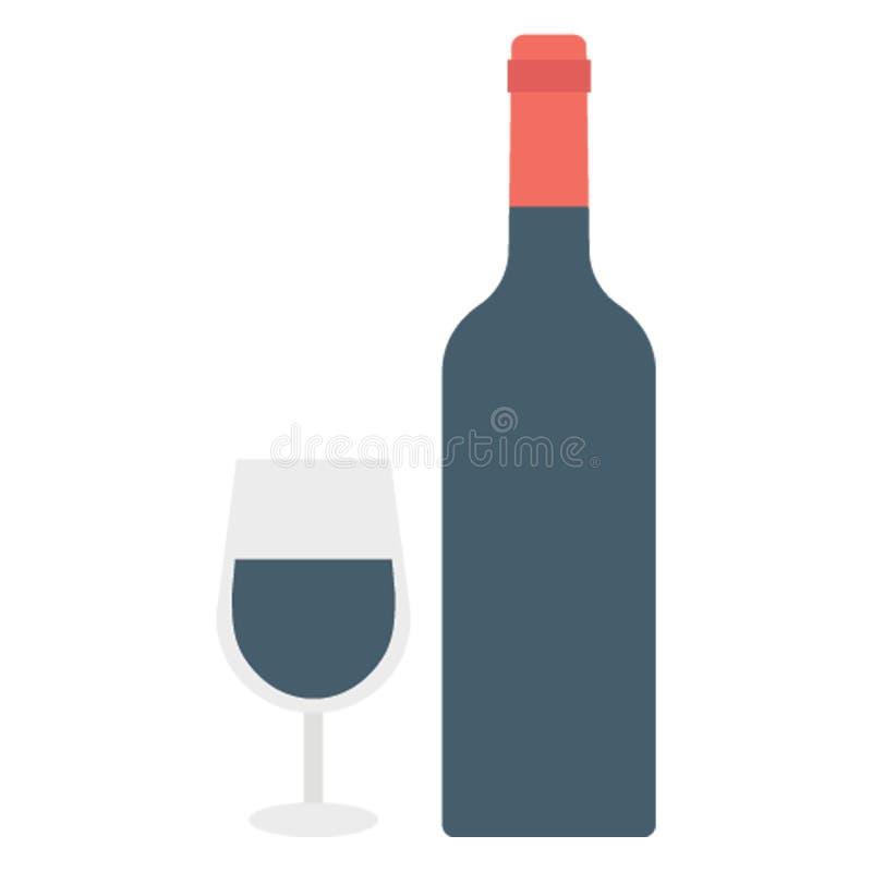 L'icône de vecteur de couleur de boissons facilement modifient ou éditent photos stock