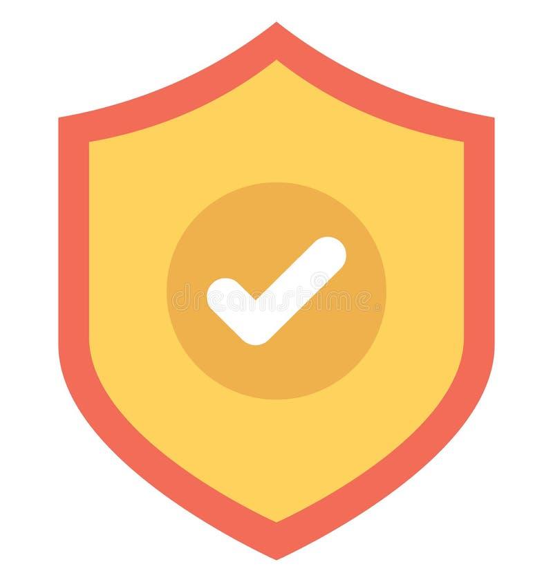 L'icône de vecteur d'antivirus a isolé l'icône de vecteur qui peut facilement modifier ou éditer illustration stock