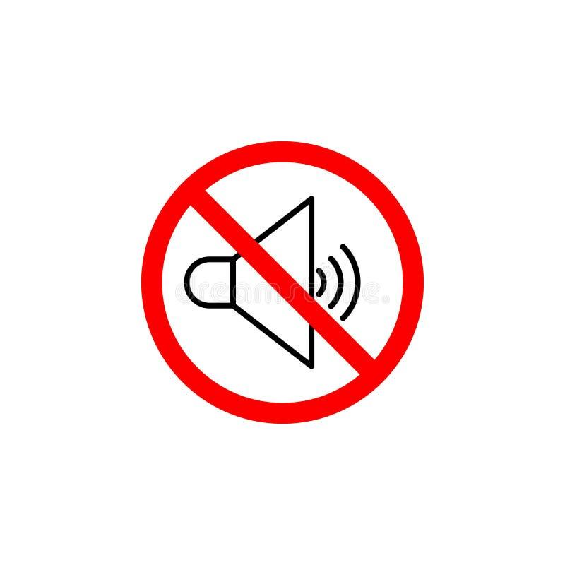 L'icône saine interdite peut être employée pour le Web, logo, l'appli mobile, UI UX illustration de vecteur