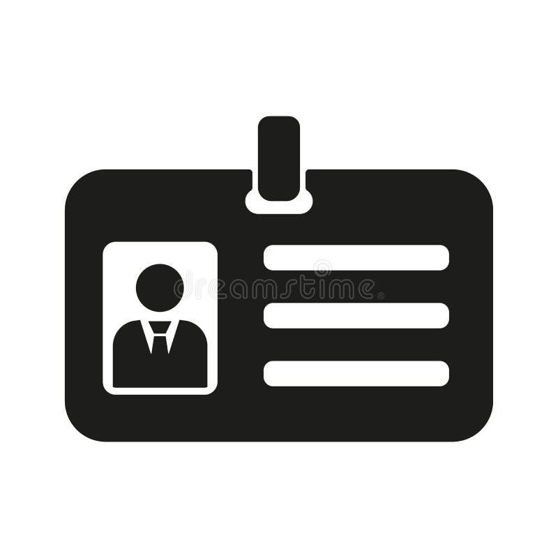 L'icône d'accréditation Admission et insigne, identification, symbole de passage illustration libre de droits