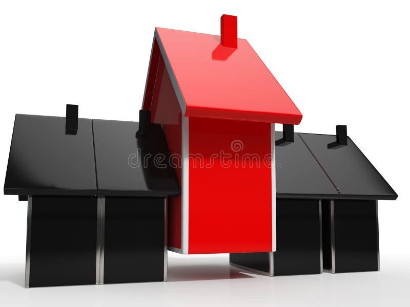 L'icône de Chambre signifie à la maison en vente illustration de vecteur