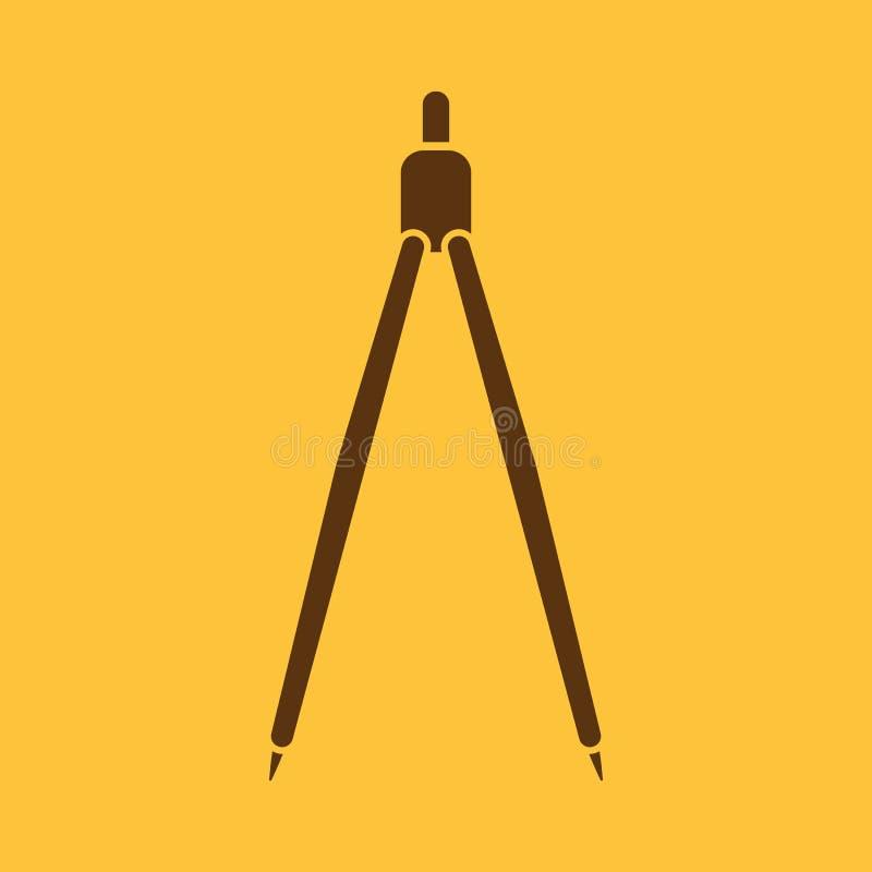 L'icône de diviseur illustration stock