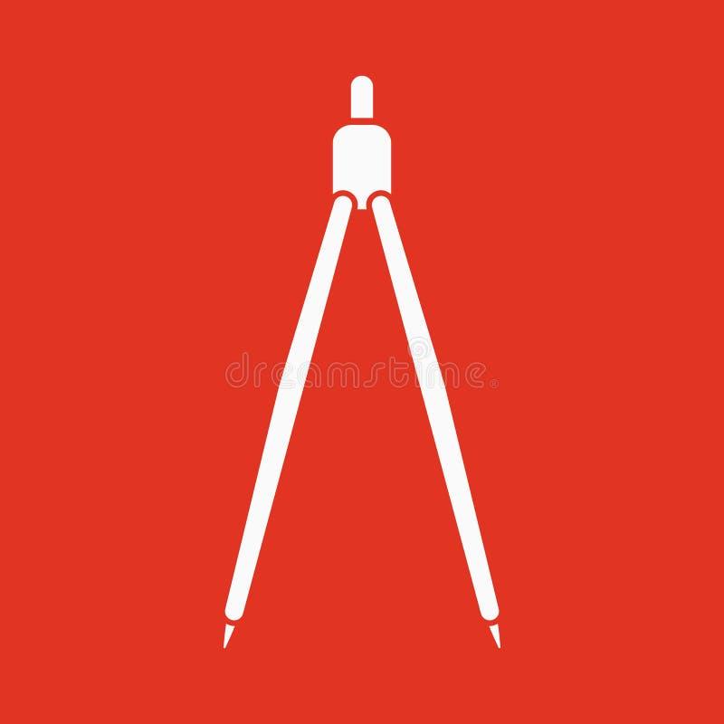 L'icône de diviseur illustration libre de droits
